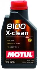 MOTUL 8100 X-clean 5W30 1л