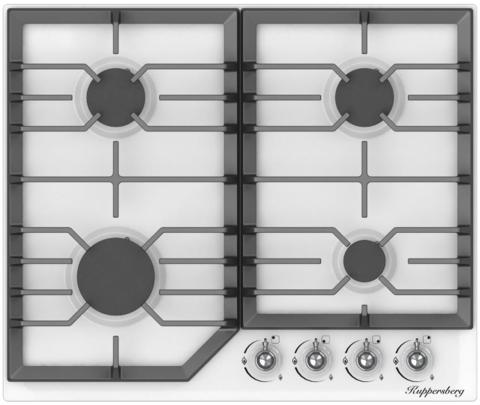 Газовая варочная панель Kuppersberg FS 601 W Silver
