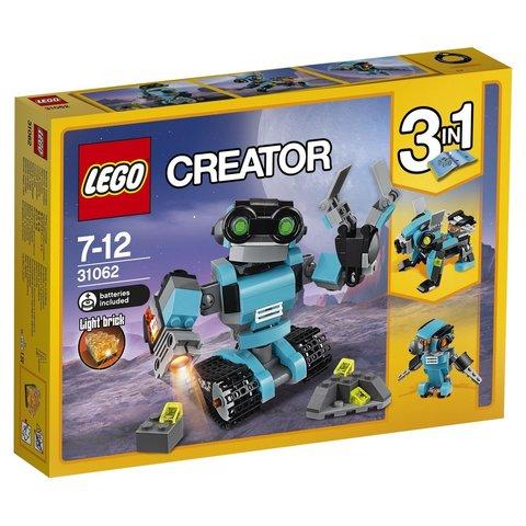 LEGO Creator: Робот-исследователь 31062 — Robo Explorer — Лего Креатор Создатель