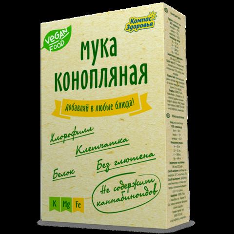Мука конопляная 200 г (Компас здоровья)