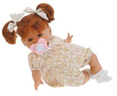 JUAN ANTONIO munecas Кукла Маргарита, платье в цветочек, плачущая, 33 см (1010F)
