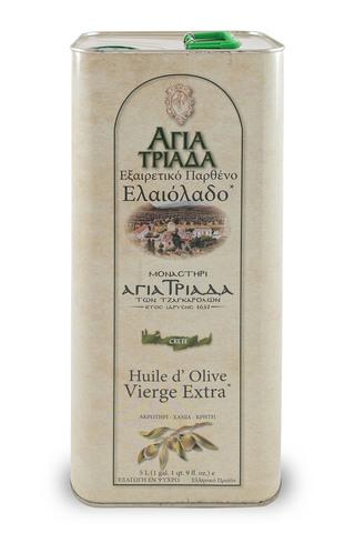 Оливковое масло греческое Agia Triada 5 л с острова Крит