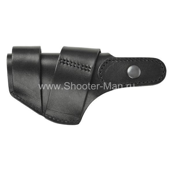 Кожаная кобура на пистолет Гроза - 02, для водителей ТРАССА ( модель № 9 )