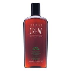 American Crew Classic 3-in-1 Tea Tree - Шампунь, кондиционер и гель для душа чайное дерево