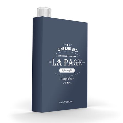 Фляга Asobu My discreet flask (0,475 литра), серая
