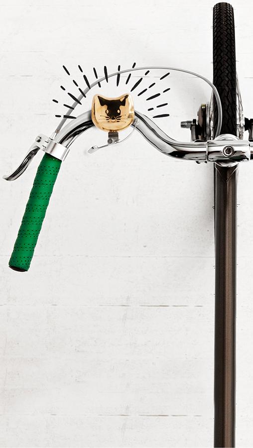 Звонок для велосипеда Cat Bike Bell Suck UK SK BELLCAT1   Купить в Москве, СПб и с доставкой по всей России   Интернет магазин www.Kitchen-Devices.ru
