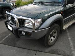 Бампер силовой Protector Toyota Prado 90/95