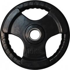 Диск обрезиненный DFC, чёрный, 51 мм, 5кг