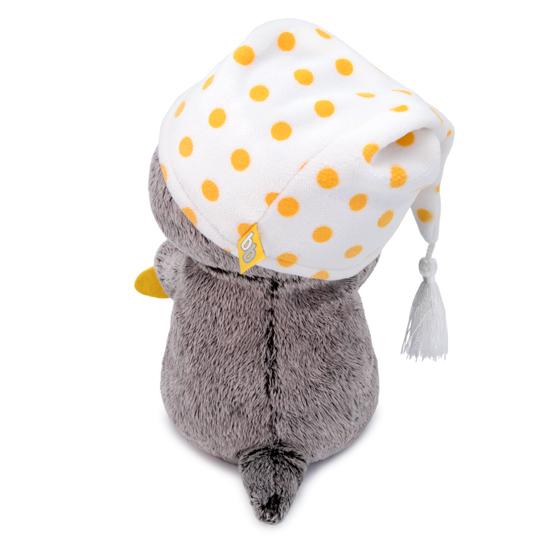 Кот Басик Baby с подушкой - рыбкой
