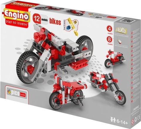 Engino Мотоциклы - 12 моделей, серия Пико