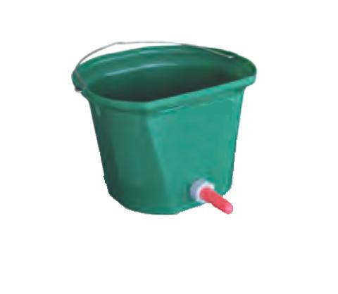1135126 Ведро 17,5 литров с соской для поения телят, без держателя