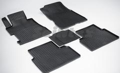 """Резиновые коврики """"Сетка"""" для Honda Civic VIII Sedan (2006-2011)"""