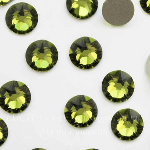 2088 Стразы Сваровски холодной фиксации Olivine ss 34 (7,07-7,27 мм)