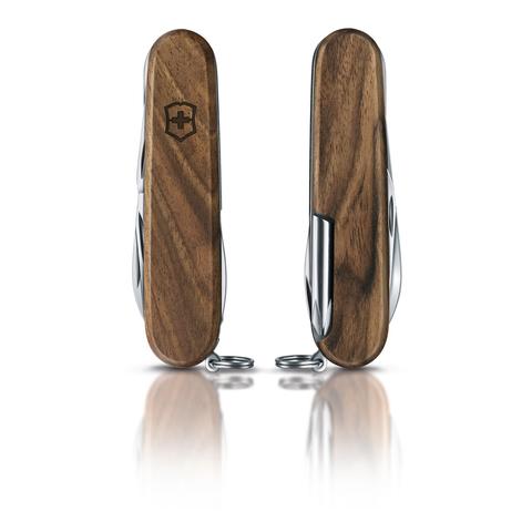 Нож Victorinox Hiker, 91 мм, 11 функций, рукоять из орехового дерева