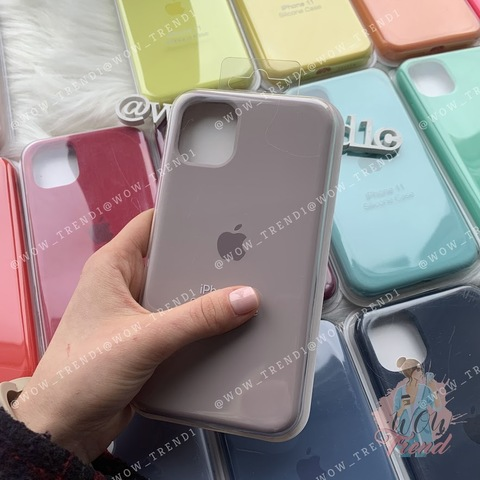 Чехол iPhone 11 Silicone Case Full /lavender/