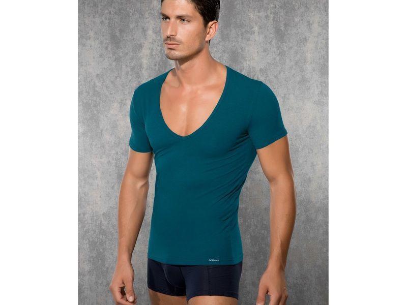 Мужская футболка изумрудная Doreanse 2820