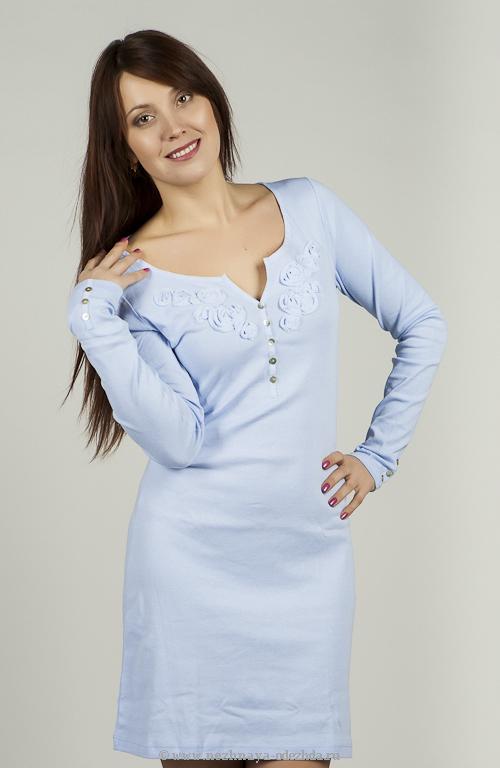 Платье для дома Blue Lemon