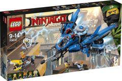 Lego Ninjago Самолётмолния Джея 70614