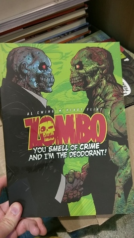 Zombo: You Smell Of Crime And I'm The Deodorant! TPB