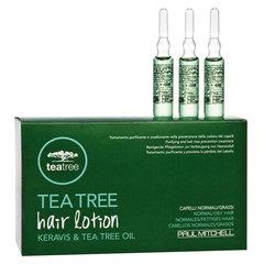 Регенерирующие ампулы против выпадения волос Paul Mitchell Tea Tree Hair Lotion Keravis & Tea Tree Oil