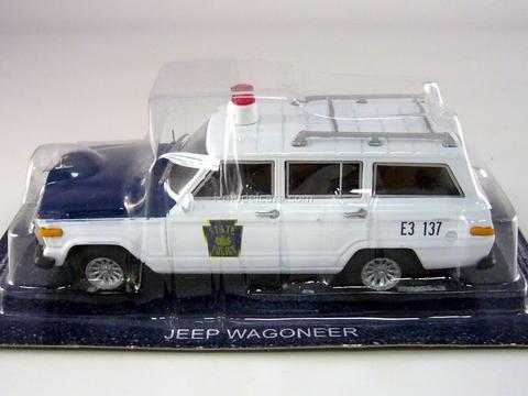 Jeep Wagoneer State Pennsylvania USA 1:43 DeAgostini World's Police Car #39