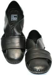 Туфли сандали мужские Luciano Bellini 801 Black.