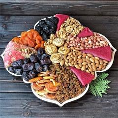 Подарочная корзина орехов и сухофруктов, 2,5 кг, №10