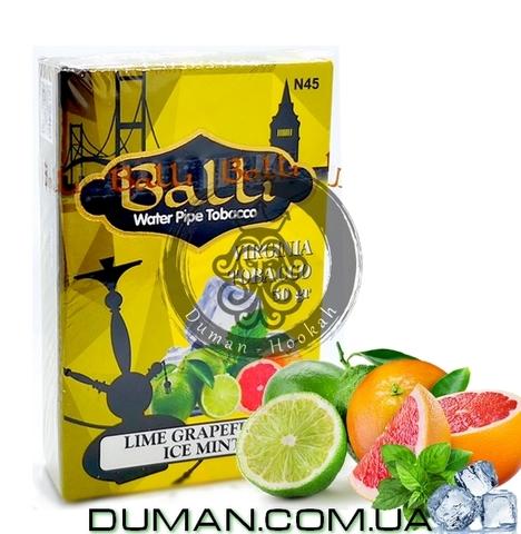 Табак Balli LIME GRAPEFRUIT ICE MINT (Балли Лайм Грейпфрут Лед Мята)