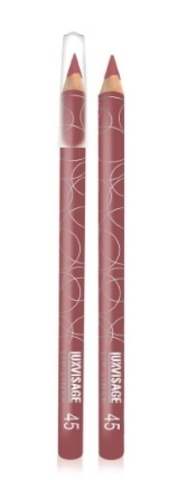 LuxVisage Карандаш для губ тон 45 натуральный розовый