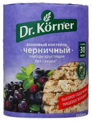"""Хлебцы """"Dr. Korner"""" злаковый коктейль с черникой 100 г"""