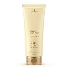 Шампунь блеск золотое сияние для тонких волос Schwarzkopf Bonacure Oil Miracle Light Oil Shampoo