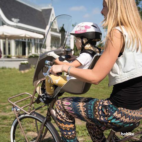 Картинка велокресло Bobike Exclusive maxi urban black