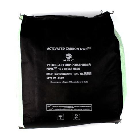 Активированный уголь NWC 12x40 (50л, 25кг)
