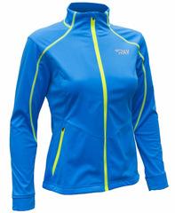 Утепленная лыжная куртка Ray Race WS Blue-Lime женская