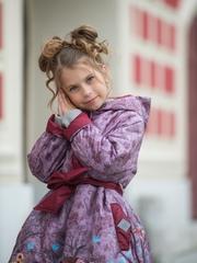 Детское пальто