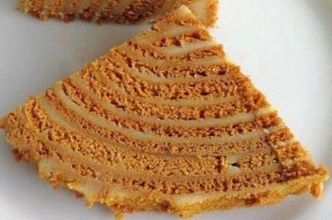 Светлый торт Медовик безглютеновый Карамельный