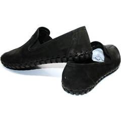 Летние мужские туфли Roadman S-200 Black