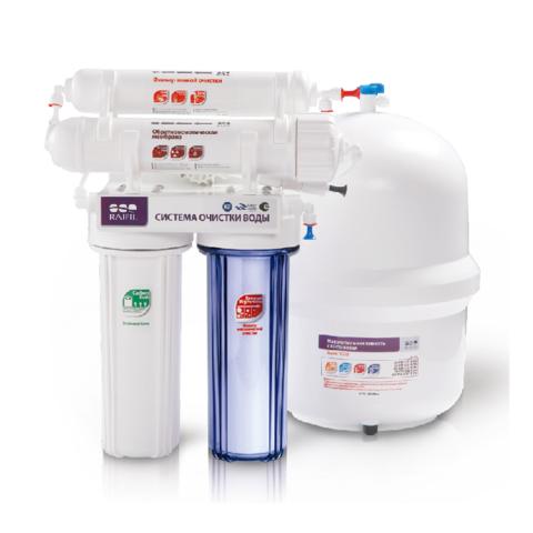Водоочиститель RO 894-450BP-EZ CSM, (RO 4 стадийный, с насосом ПД), Райфил