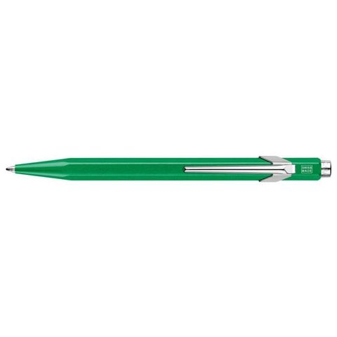 Шариковая ручка Carandache Office Popline (849.712) Metal-X зеленая SP