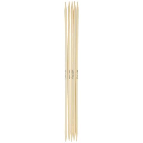 Спицы для вязания Addi чулочные, бамбуковые, 20 см, 5 мм