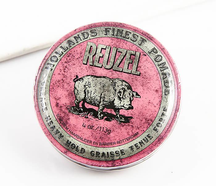 CARE123 Помада для волос сверхсильной фиксации Reuzel Grease Heavy Hold (113 гр)