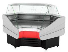 Холодильная витрина  CRYSPI OCTAVA  IC (90°) (угол внутр.)