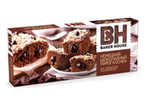 """Немецкий шоколадный пирог """"Baker house"""" 350г"""