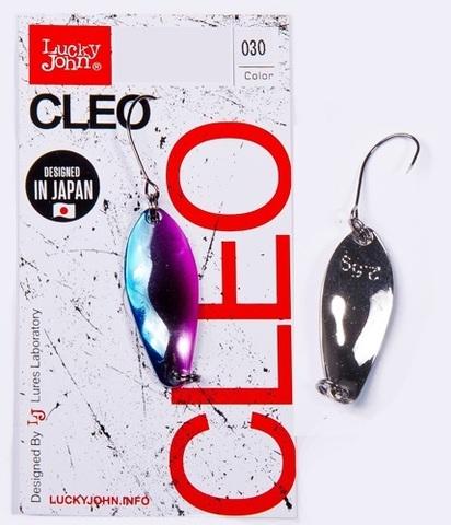 Блесна LUCKY JOHN Cleo 5 г, цвет 030, арт. LJCL50-030