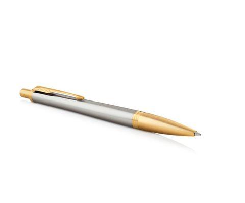 Набор с гравировкой: Блокнот и Шариковая ручка Parker Urban Premium Aureate Powder GT, K313123