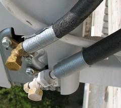 Фото Устранение утечки фреона сплит-систем