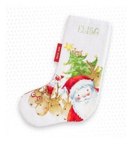 Набор для вышивания Luca-S  Новогодний сапожок 29x42см, арт. PM1225