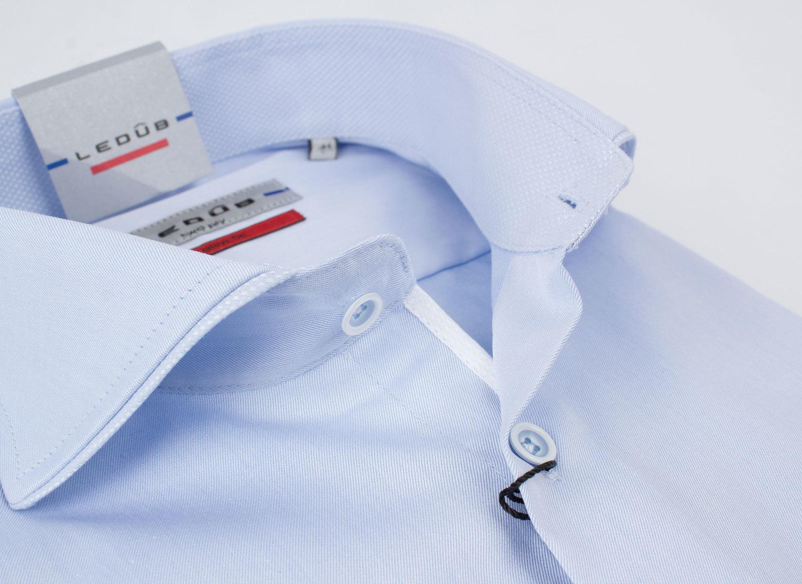 Рубашка Ledub slim fit 0135786-120-120-910-SF-Blue