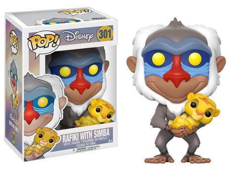 Фигурка Funko POP! Vinyl: Disney: The Lion King: Rafiki w/ Baby Simba 20095
