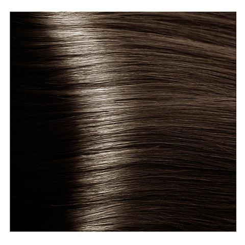 Крем краска для волос с гиалуроновой кислотой Kapous, 100 мл - HY 6.757 Темный блондин пралине
